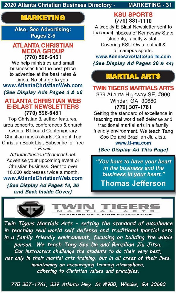 Directory Page 31